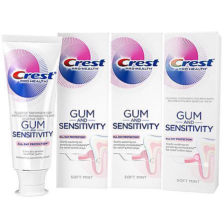 Crest Pro-Health Gum and Sensitivity, Sensitive Toothpaste (4.1 oz., 3 pk.)