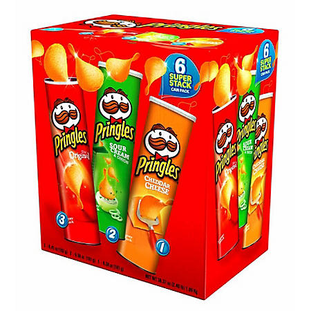 Pringles 6 Can Pack