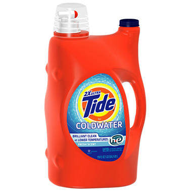 Tide Coldwater Liquid HE Fresh Scent - 170 oz.