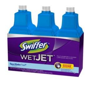 Swiffer WetJet Multi-Purpose Floor Cleaner Solution - 3/1.25 L