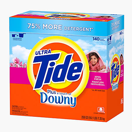 Ultra Tide Plus a Touch of Downy - 259 oz.