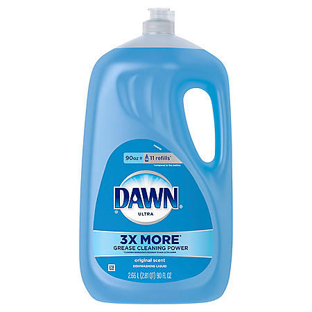Dawn Ultra Dishwashing Liquid Dish Soap, Original Scent, 90 Fl oz