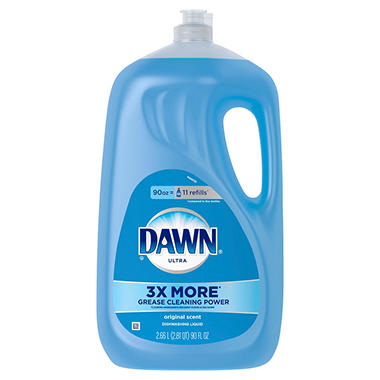 Dawn Ultra Concentrated Dish Detergent, Original Scent (90 oz. bottle)