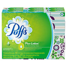 Puffs Plus Lotion Facial Tissue (12 cubes 56 ct.)