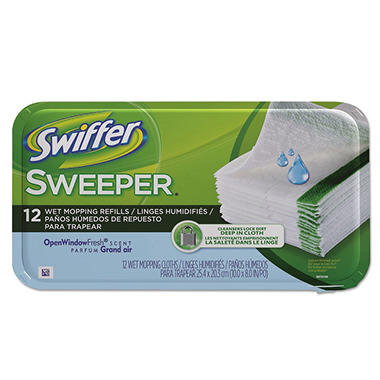swiffer sweeper system wet refill cloths - Swiffer Mop