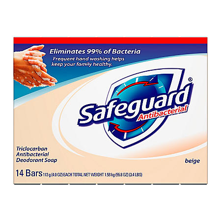 Safeguard Bath Bar - 4 oz. - 14 pk.