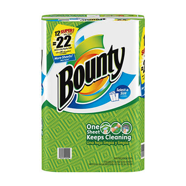 Bounty® Select-A-Size Super Rolls White