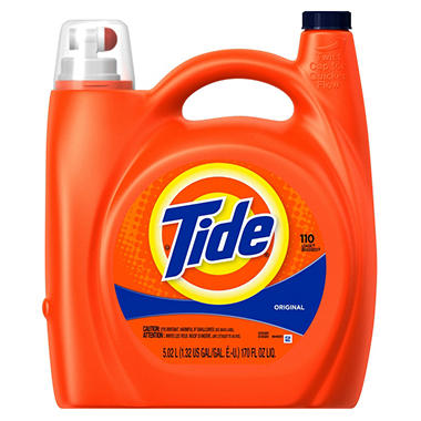 Tide Original Scent Liquid Detergent (170 oz., 110 loads)
