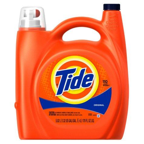 Tide Original Scent Liquid Detergent (170 oz., 110 loads)