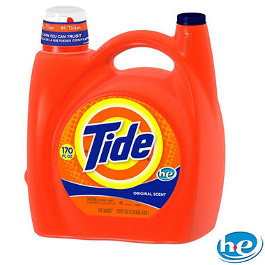 Tide HE with Acti-Lift Liquid Laundry Detergent - Original (170 oz., 110 loads)