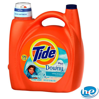 Tide with Downy 170 oz. - 81 loads