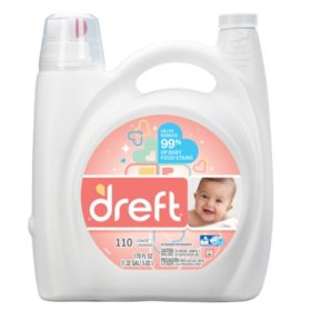 Dreft HE Liquid Laundry Detergent (170 oz., 110 loads)