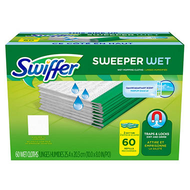 Swiffer Wet Refills, Choose Your Scent (60 ct.)