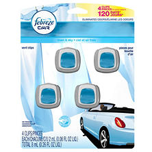 Febreze Car Vent Clips, Choose Your Scent (4 pk.)