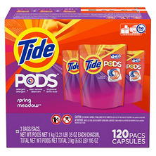 Tide Pods Spring Meadow (120 ct.)