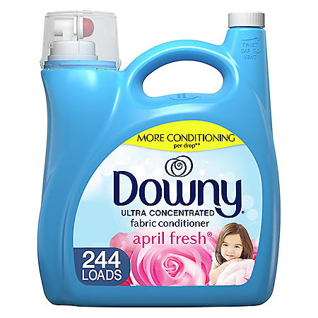 Downy Ultra Liquid Fabric Conditioner, April Fresh (165 oz., 244 loads)