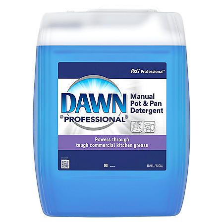 Dawn Professional Manual Pot & Pan Dish Detergent, Choose Your Scent (5 Gal.)