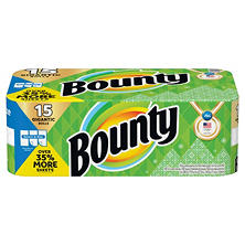 Bounty Select-A-Size Gigantic Roll Olympic Print (15 rolls, 152 sheets per roll)