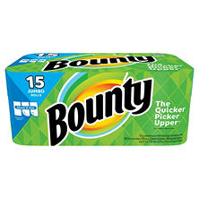 Bounty Select-a-Size Paper Towels, Jumbo Rolls (15 ct.)