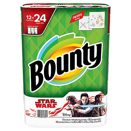 Bounty Select-a-Size Paper Towels, Star Wars Edition