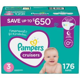 Pampers Cruisers Diapers (Choose Your Size)