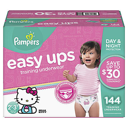 Pampers Easy Ups Training Underwear for Girls (Choose Your Size)