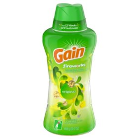 Gain Fireworks In-Wash Scent Booster Beads, Original (30.3 oz.)