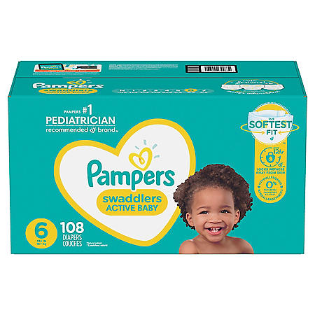 Pampers Swaddlers Diapers (Choose Your Size)
