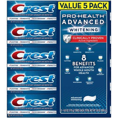 Crest Pro-Health Advanced Whitening Power Toothpaste (6.0 oz, 5ct)