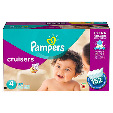 Pampers Cruisers Diapers Economy Pack (Choose Your Size)