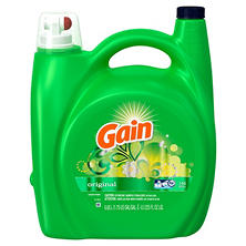 Gain HE Original Liquid Laundry Detergent (225 fl.oz.,146 loads)