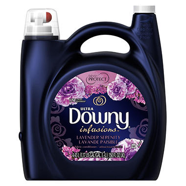 Downy Ultra Infusions Fabric Softener, Lavender Serenity - 150 oz.