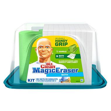 mr clean magic eraser bath handy grip 9 ct sam 39 s club. Black Bedroom Furniture Sets. Home Design Ideas