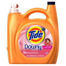 Tide Plus Downy Laundry Detergent, April Fresh (170 oz., 88 Loads)