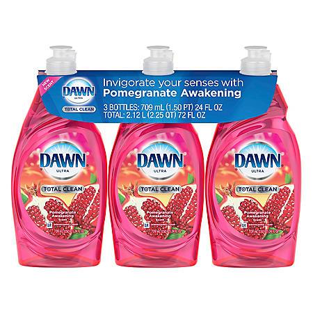 DAWN TOTAL CLEAN 3PK / 24 OZ