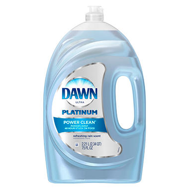 Dawn Platinum, Refreshing Rain Scent (75 oz.)