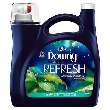 Infusions Liquid Fabric Softener, Refresh, Birch Water & Botanicals (115 fl. oz.)