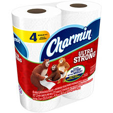 Charmin Ultra Strong Regular Roll Toilet Paper (4 ct.)