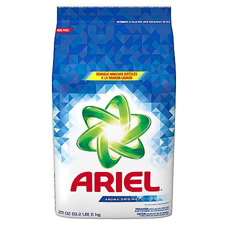 Ariel Powder Laundry Detergent, Original Scent (211 ounces, 132 loads)