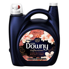 Downy Infusions Amber Blossom Liquid Fabric Conditioner (150 oz.)