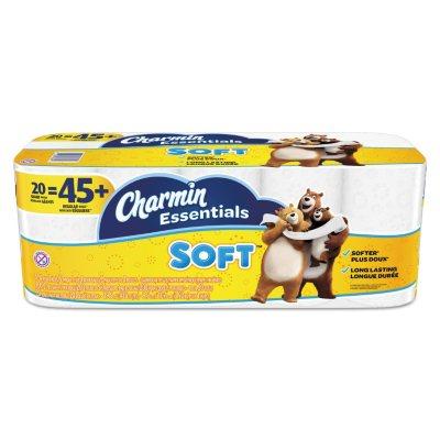 Charmin Essentials Soft 2Ply Bathroom Tissue 200 sheets per roll