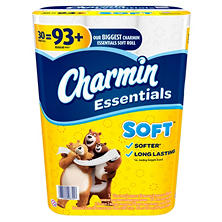 Charmin Essentials Soft Toilet Paper (30 Huge Rolls)