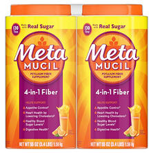 Metamucil Orange Smooth Fiber Powder (260 doses)