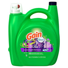 Gain Liquid Detergent, Moonlight Breeze Scent (225 oz.)