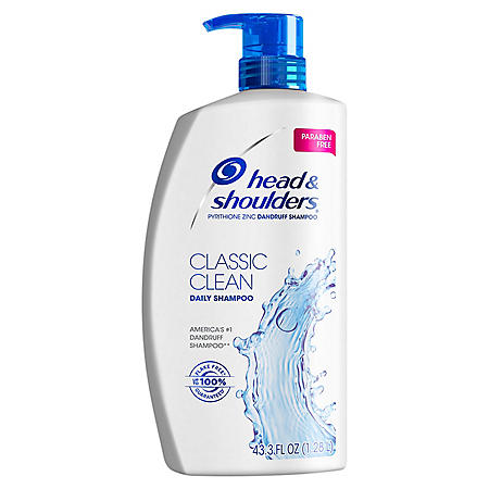 Head & Shoulders Dandruff Shampoo, Classic Clean (43.3 fl. oz.)