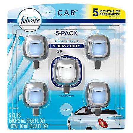Febreze Car Air Freshener (various scents)