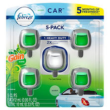 Febreze Car Air Freshener, Choose Your Scent (5 ct.)