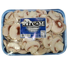 Sliced White Mushrooms (20 oz.)