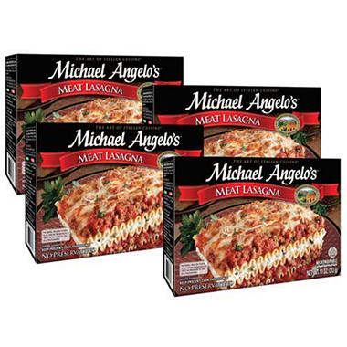 Michael Angelo's Meat Lasagna - 4/11 oz.