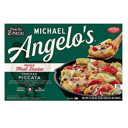 Michael Angelo's Chicken Piccata (20 oz., 2 pk.)